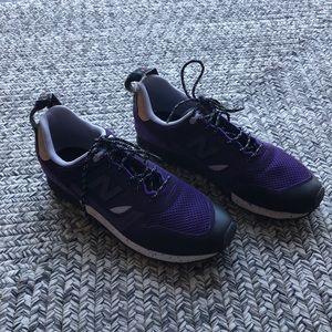 New Balance FantomFit purple cleats size 9